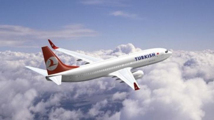 Aterizare de urgenţă a unei curse Turkish Airlines