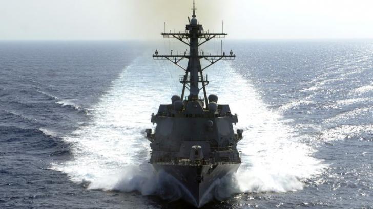 Un distrugător și avioane de luptă ale SUA, mobilizate după ce Iranul a sechestrat o navă cargo