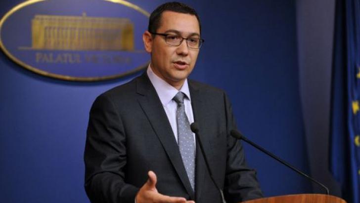 Ponta avertizează PNL: Să nu saboteze Proiectul de revizuire a Constituției
