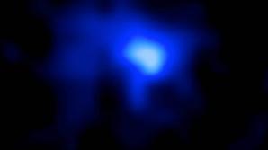 Galaxia albastră de la 13 miliarde ani-lumină