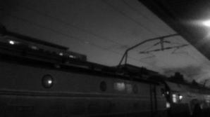 Beznă în Gara de Nord