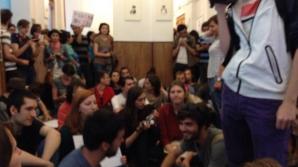 Protest la UNATC