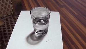 Toţi cred că în această imagine este un pahar cu apă. Ce este de fapt