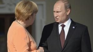 Putin şi Merkel