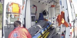 Accident teribil în judeţul Cluj. Un rănit, după ce a pierdut controlul volanului şi s-a răsturnat