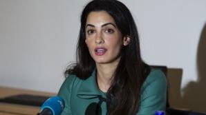 Grecia nu ține cont de sfatul avocatei Amal Clooney, soţia actorului George Clooney