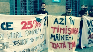 Studenţii au pierdut lupta cu Ministerul Educaţiei. Protestele vor continua