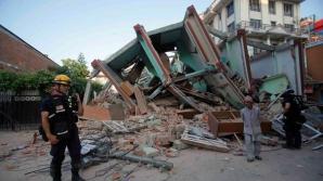 Ultimul cutremur din Nepal, surprins în imagini