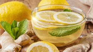 Beneficiile neștiute ale ceaiului de lămâie