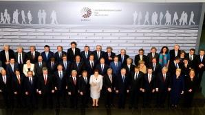 Participanții la summitul Partneriatului Estic