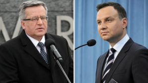 Bronislaw Komorowski luptă cu Andrzej Duda