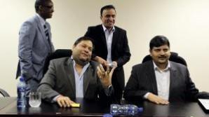 O parte dintre liderii de business ai familiei Gupta