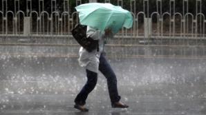 Cod Galben de ploi şi grindină. Iată ce judeţe sunt afectate