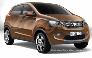 Primul pas către modelul ultra low cost, Dacia Kayou