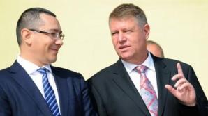 Iohannis îi dă replica lui Ponta pe Codul silvic: Acuzaţiile premierului sunt false