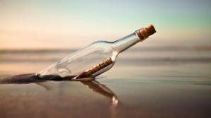 O sticlă ce conţinea un mesaj vechi de 40 de ani, aruncată în Oceanul Pacific, recuperată în Alaska