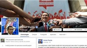 Victor Ponta, cont de Facebook umflat cu 11.000 de fani din Bangladesh
