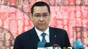 Ponta: Apreciez pozițiile ambasadelor. Sunt convins că Parlamentul știe ce decizii să ia
