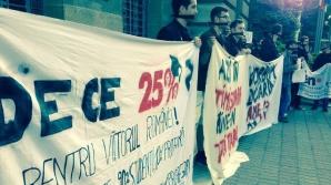 Studenţii protestează în Bucureşti. De ce sunt aceştia nemulţumiţi