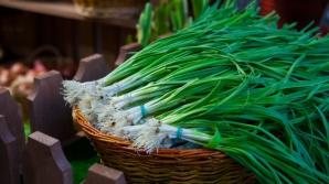 Usturoiul verde: Lucrul neştiut despre această legumă