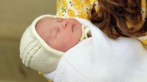 Charlotte Elizabeth Diana este numele ales de William şi Kate pentru fiica lor nou-născută