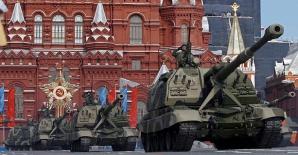 Marea paradă cu T-14 Armata