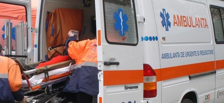 Accident în lanţ la intrarea în Vaslui: un rănit