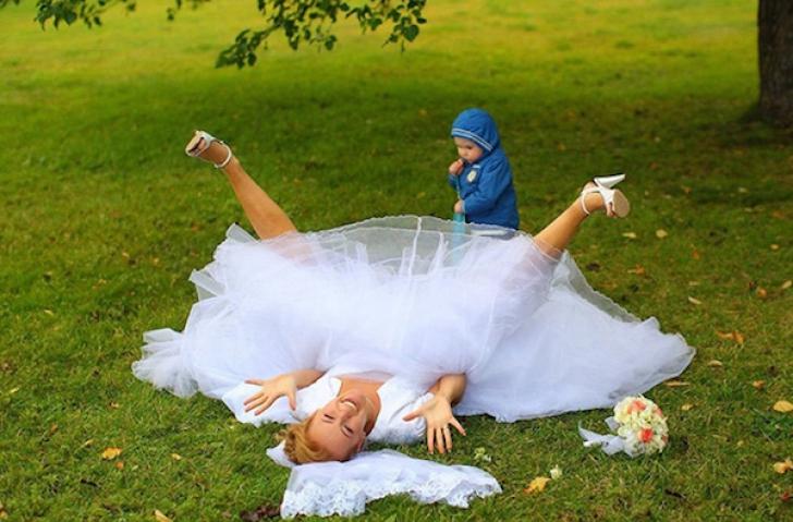 Fotografii de nuntă nereușite
