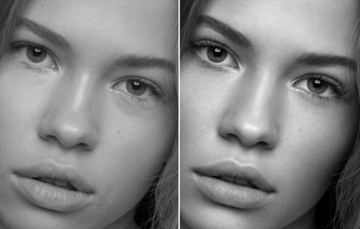 Adevărul din spatele reclamelor la produse de frumuseţe: cum arată modelele fără Photoshop