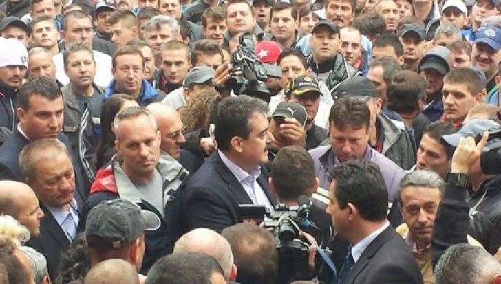 Ministrul Gerea la Petrosani