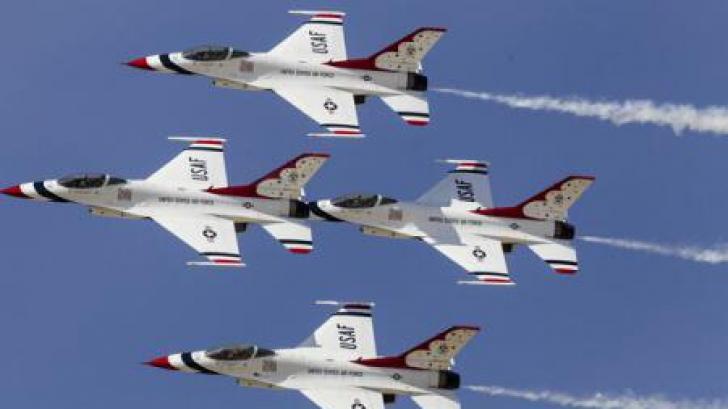100 de avioane miliare din SUA și opt state europene desfășoară un exercițiu în nordul Europei