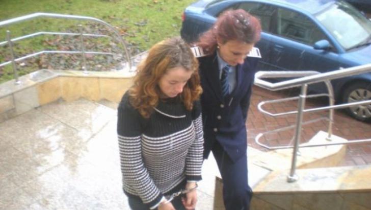 Iuliana Andreea Ciubotariu, tânăra care și-a ucis fetița de doar o luna. Sursa foto: Adevarul