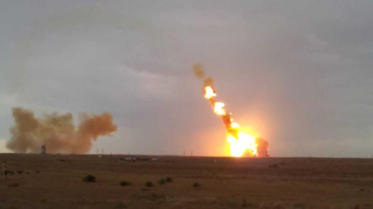 Eșec rusesc. O rachetă Proton M s-a prăbușit la câteva minute după lansare