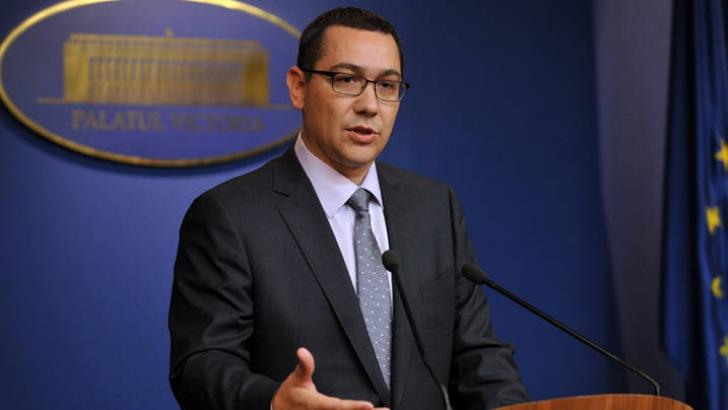 Ponta merge la Chișinău pentru o întâlnire cu premierul Moldovei. Când va avea loc
