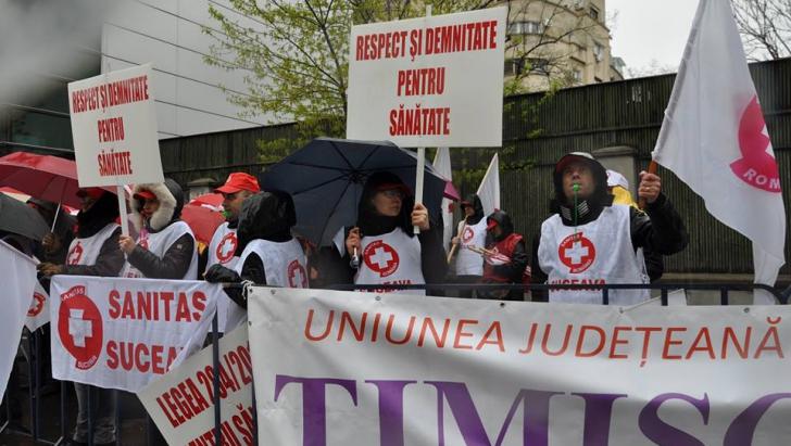 Sanitas - Protest medici