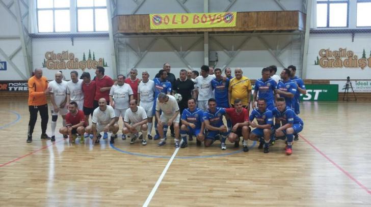 Chivu a participat la evenimentul organizat de Steaua 86, cu selecţionata lui Rotariu şi Artiştii