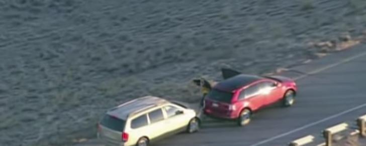 A furat o maşină în trafic, dar cu un copil înăuntru. Ce a urmat este desprins din filmele poliţiste