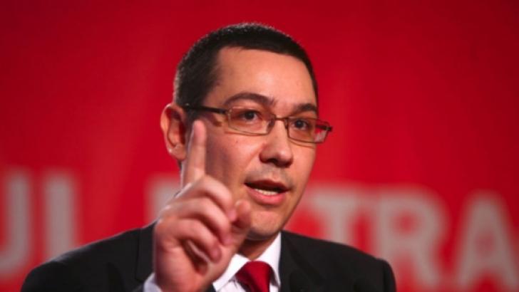 Ponta: Eu nu cred că PNL va depune moțiune de cenzură. Venim, la 12 noaptea plecăm acasă