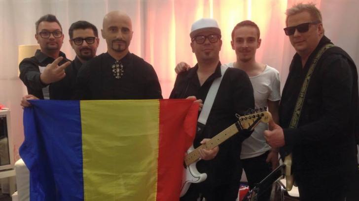 Eurovision 2015. Momentul emoționat de la reprezentația trupei Voltaj. S-a văzut la final