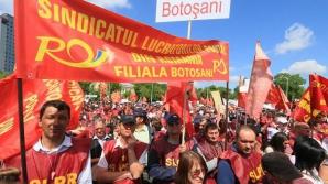 Sindicatul Lucrătorilor Poștali din România pichetează, marți, sediul Ministerului Finanțelor