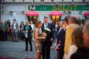 Carmen Iohannis, apariţie de senzaţie la Festivalul de Teatru de la Sibiu