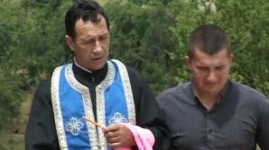 Preotul Zamfir Neagoe nu comentează acuzaţiile localnicilor