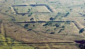 Figuri geometrice văzute pe Google Earth