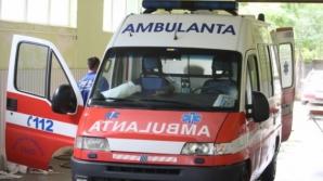 Accident grav în Bacău. Două persoane, rănite