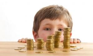 Bani pentru copii