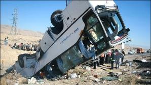 Cel puţin 24 de morţi după ce un autocar a căzut într-o prăpastie, în Iran