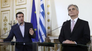 Alexis Tsipras șiWerner Faymann