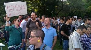 Proteste pentru demisia lui Ponta / FOTO: Hotnews.ro