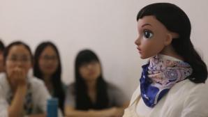 Curs predat de un profesor-robot la o universitate din China