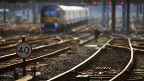 Incendiu într-un tren: Un pasager a turnat ulei pe el şi şi-a dat foc